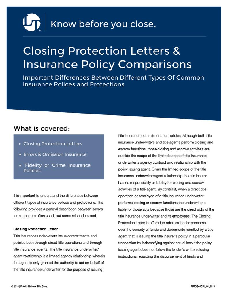 what is a closing protection letter new what is a closing protection letter cover letter 31875